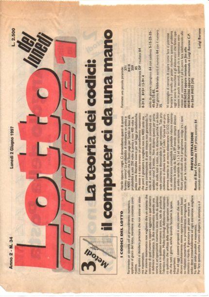 Lotto corriere 1