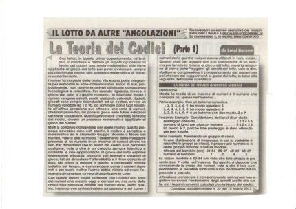 Lotto corriere 3