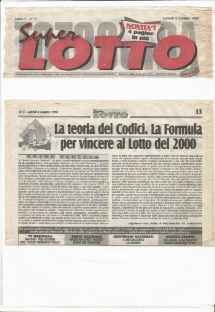 Toto Guida Super Lotto 1
