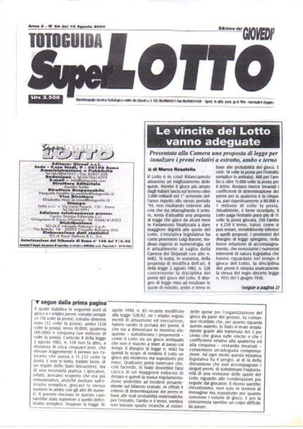 Toto Guida Super Lotto